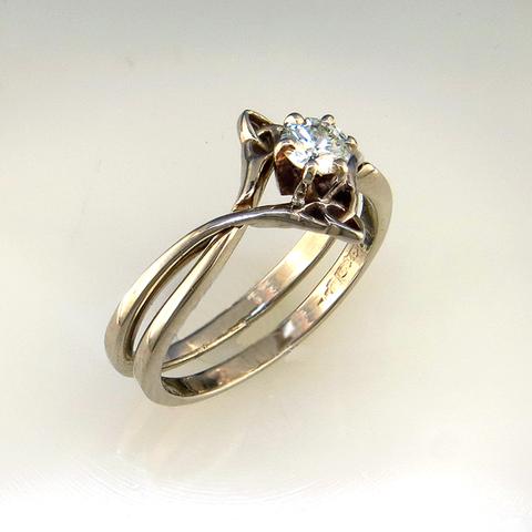Diamond Celtic Wedding Set Celtic Wedding Ring Sets Celtic Wedding Rings Celtic Engagement Rings