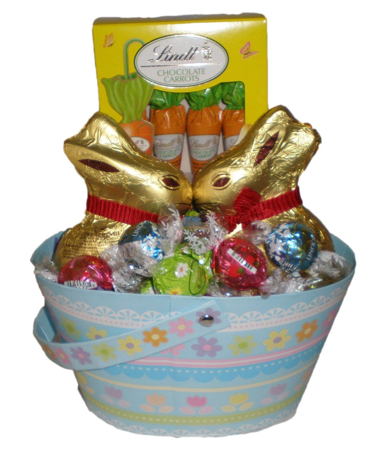 Happy easter lindt chocolate truffles bunnyand carrots gift happy easter lindt chocolate truffles bunnyand carrots gift basket amazon negle