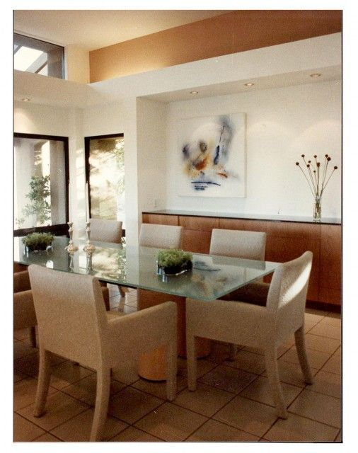 Modern Dining Room Built In Buffet   Google Search