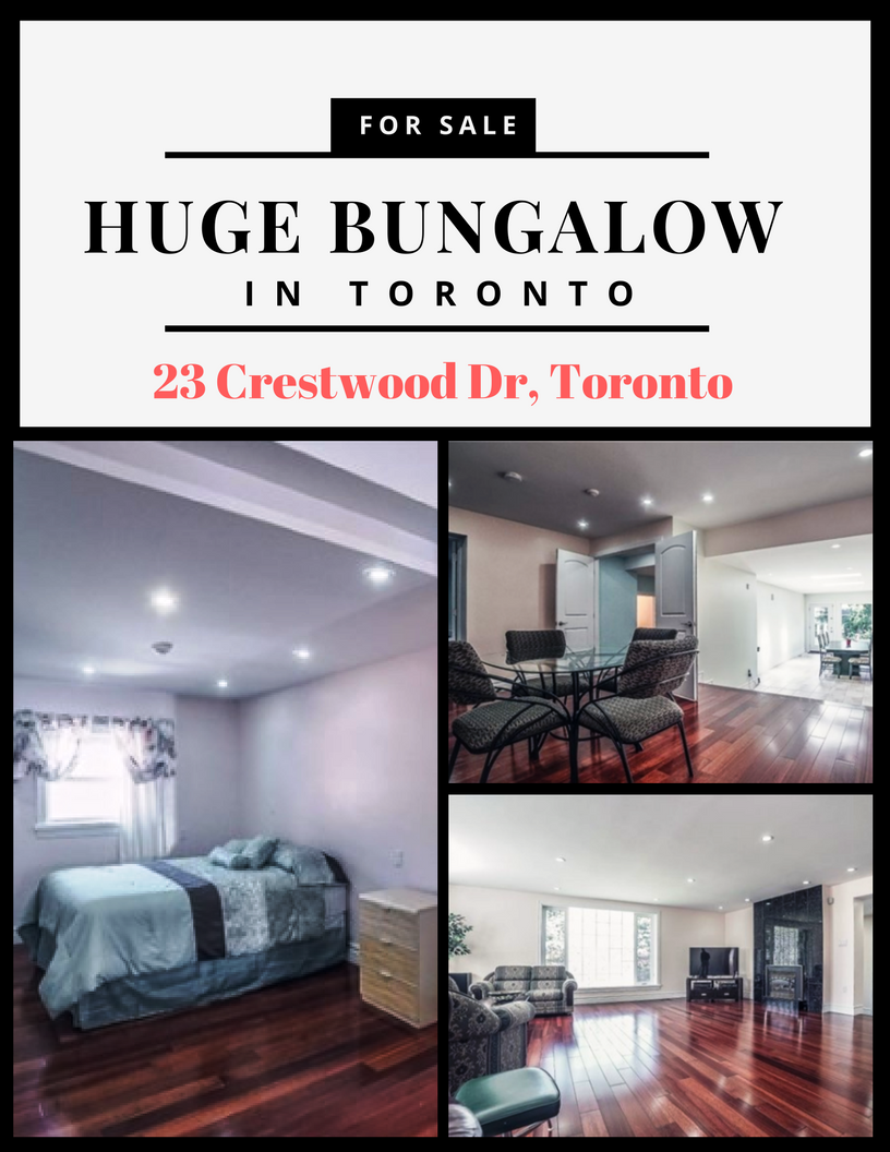 Huge Bungalow In Exclusive Hill Cr Section Of Scarb Bluffs Approx 3000 Sq Ft Of Living Space On Each Floor Total 6000 Sq Ft Hu Bungalow Living Spaces Design