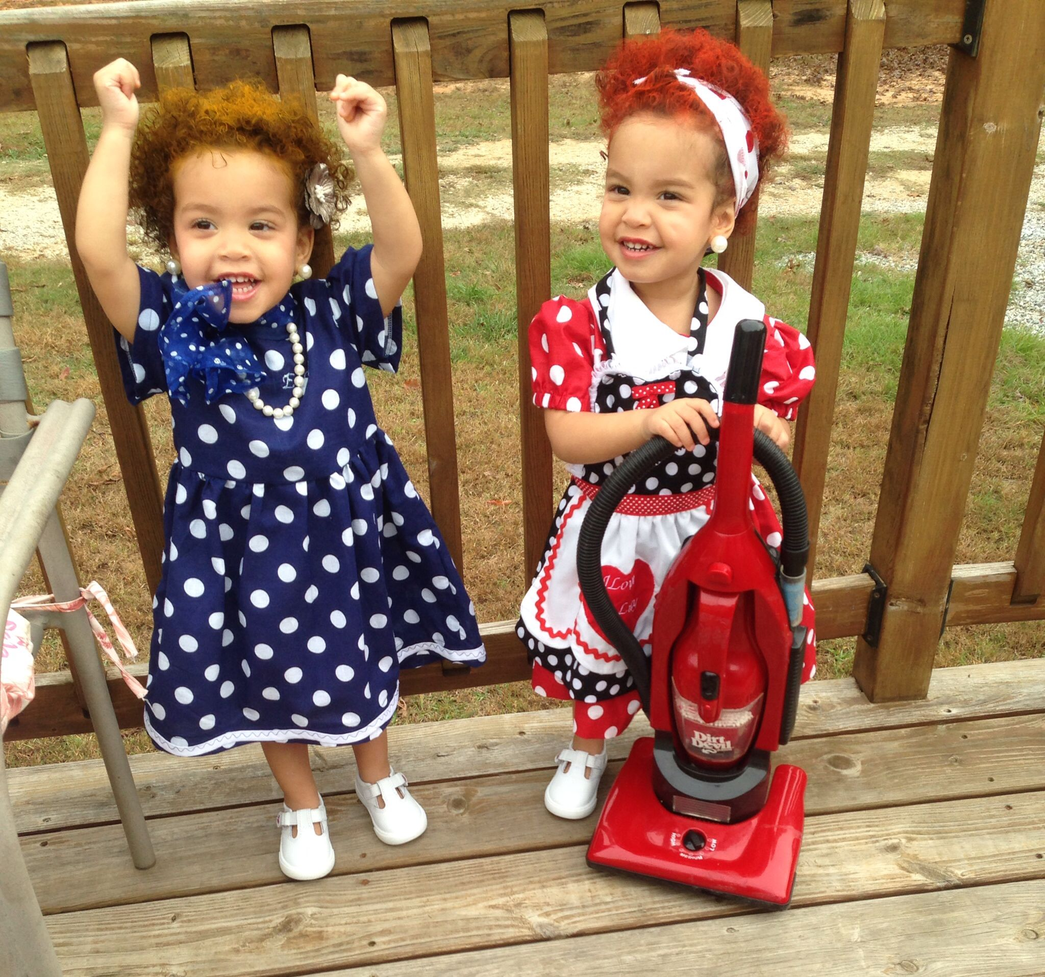 I love lucy and Ethel costume | My twin girls | Pinterest ...