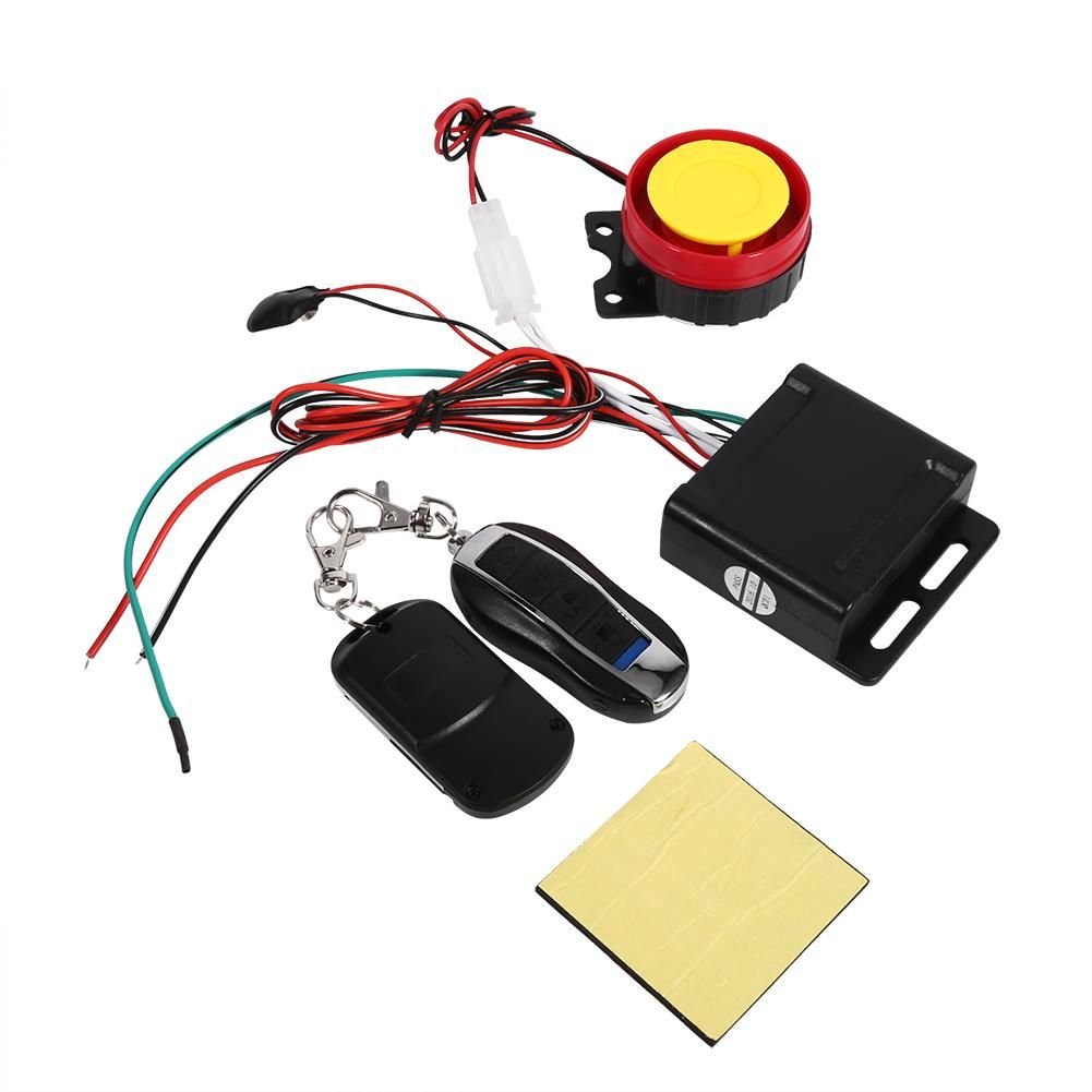 1 Set Universal Motorcycle Bike Alarm System Scooter Anti Theft Security Alarm System With Engine Start Remote Control Key 12v Kids Bikes Shop In 2021 Security Alarm Anti Theft Control Key