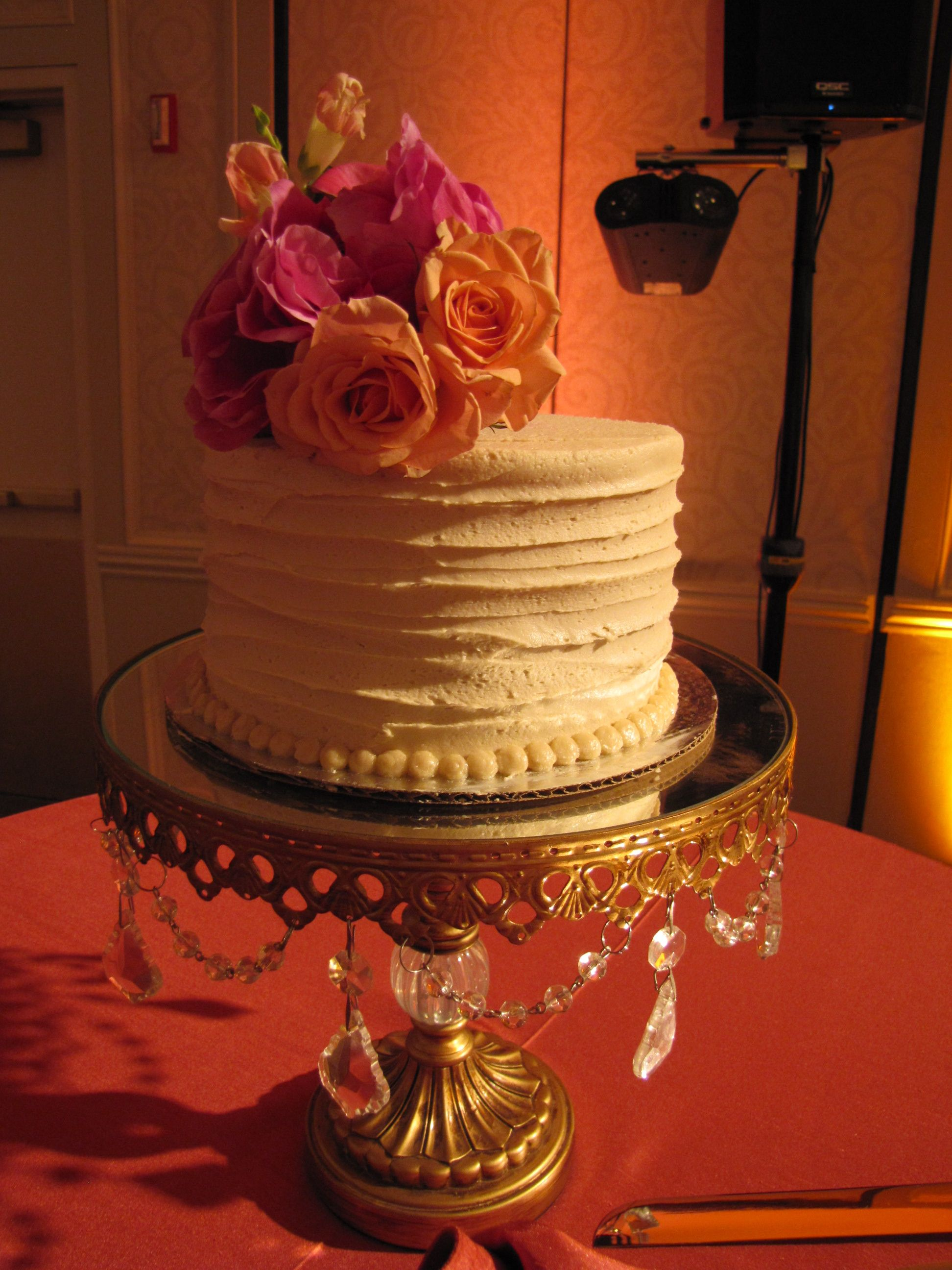 A closer look at a beautiful cake Wedding Cuisine
