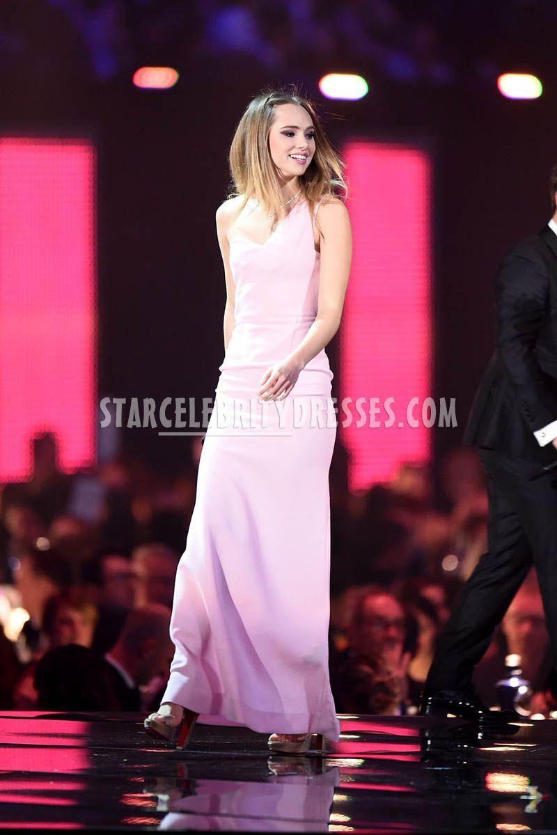 Suki Waterhouse Light Pink Evening Prom Dress BRIT Awards 2016 for ...