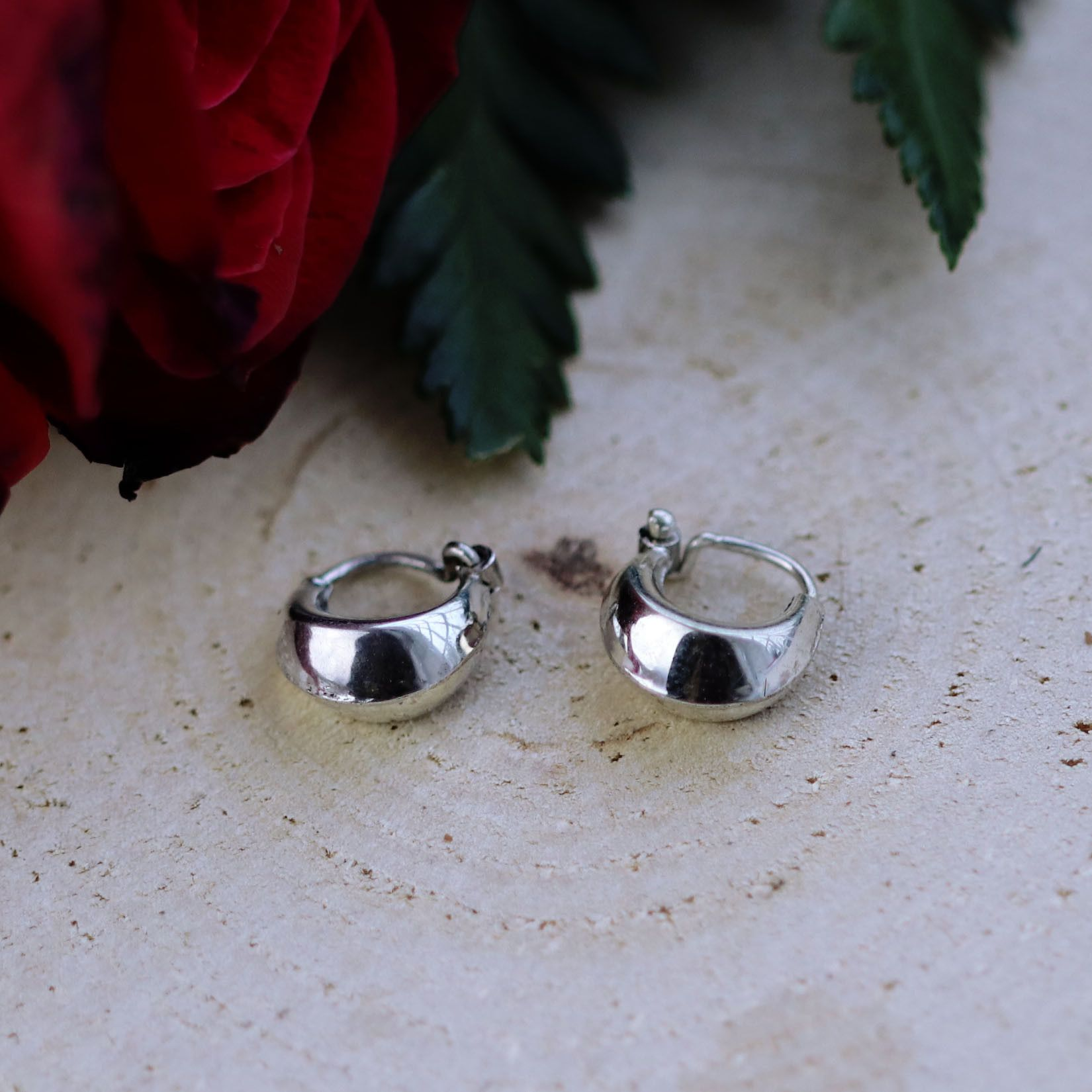 Sleeper Moon Mini Hoop Earrings Earrings Sleepers