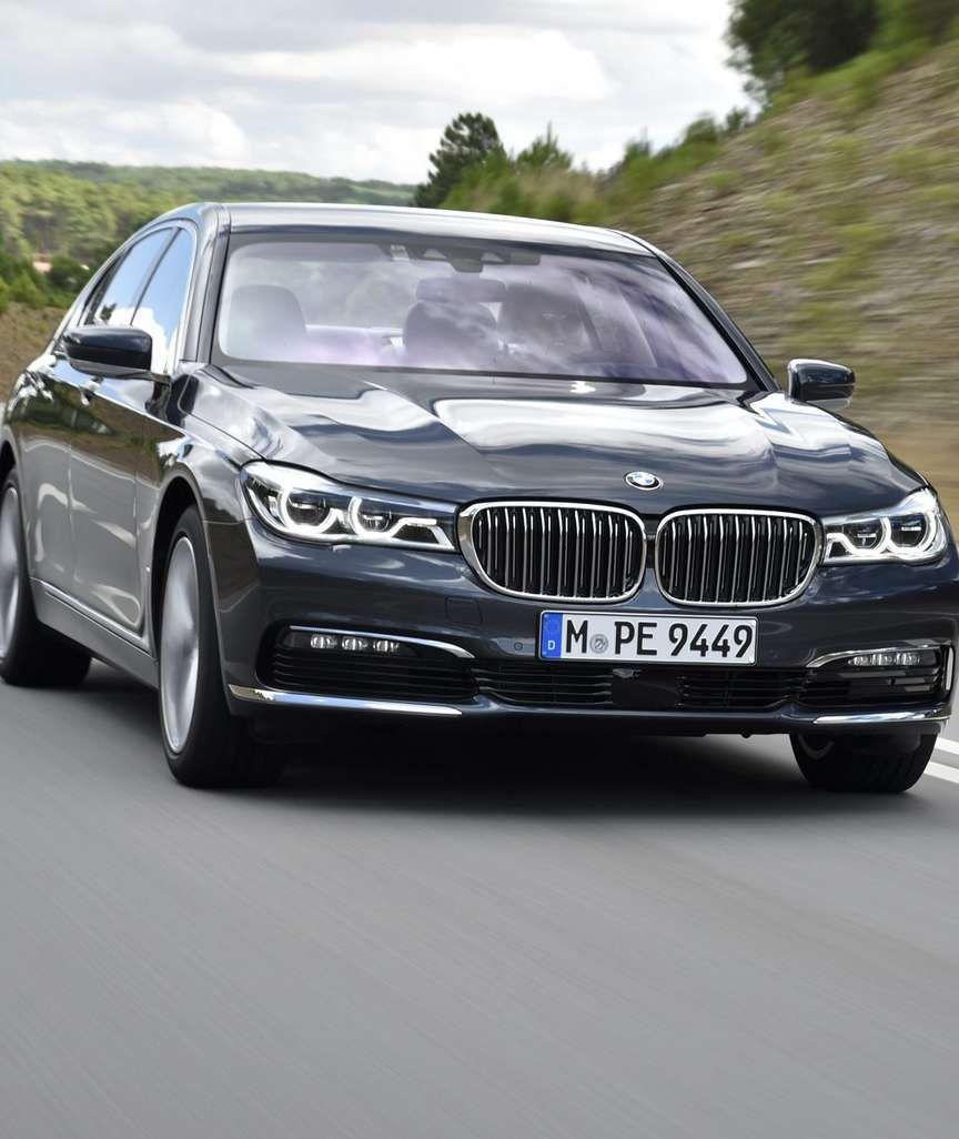 NETTE GESTE Der neue 7er BMW hört auf Handzeichen Und warten Sie, bis sie erst den Schlüssel sehen …