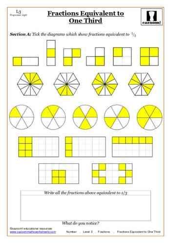 fractions maths worksheet frac ii. Black Bedroom Furniture Sets. Home Design Ideas