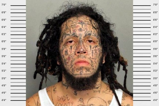 Jaw Dropping Face Tatto: 55 Worst Face Tattoos Ever! Jaw-Dropping!