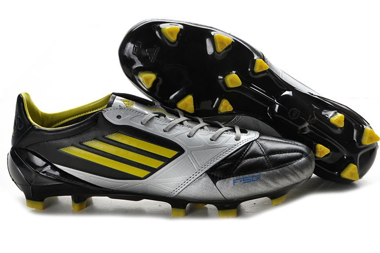 f0b159f03d3 ... adidas f50 adizero micoach leo messi ballon d or black yellow silver soccer  cleats