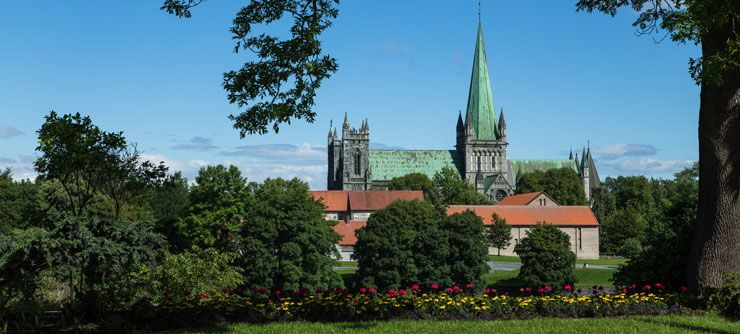 Nidarosdomen Cathedral in Trondheim - Photo: Sven-Erik Knoff / www.fotoknoff.no