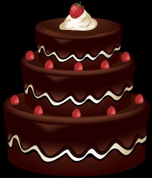 Cake Clip Art PNG Image Bolos de aniversário, Desenho de