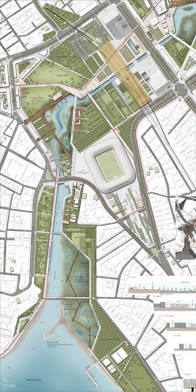 Landscape Architecture Blueprints kolokyum - galeri: eşdeğer Ödül (5) - kurbağalıdere vadisi