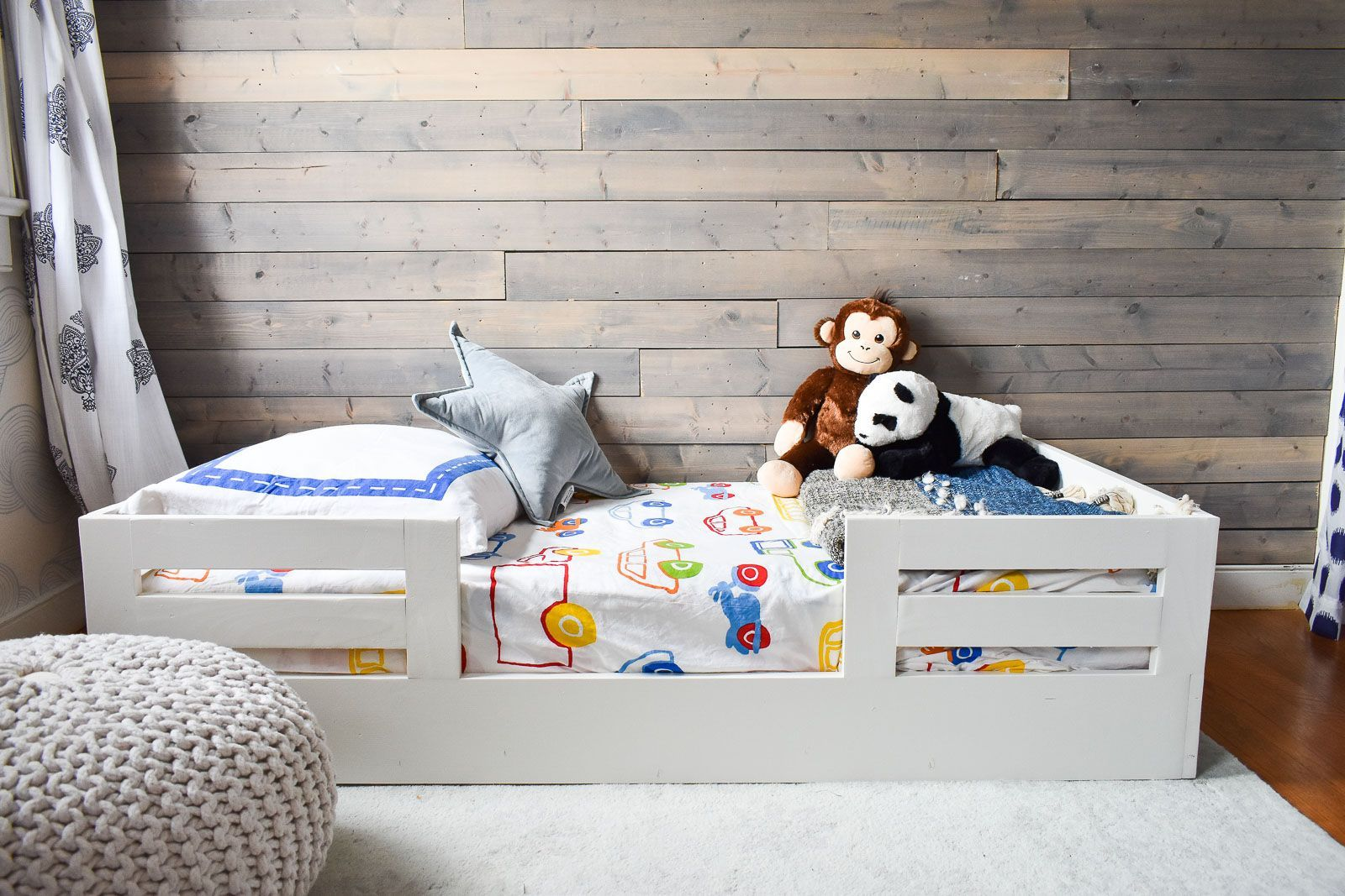 How to Build a Toddler Bed with Bed Rails (With images