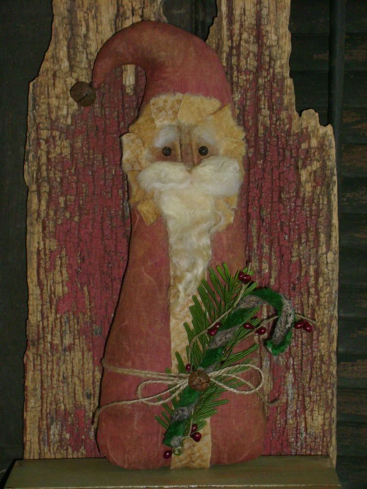 Primitive grungy 11 christmas santa dollgreen candy cane ros primitive grungy 11 christmas santa dollgreen candy cane ros cluttered attic publicscrutiny Choice Image