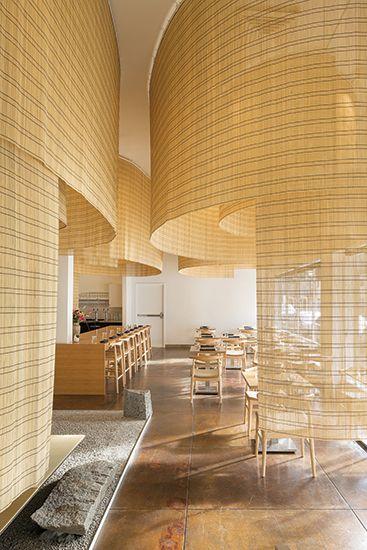 Shizuku By Chef Naoko Restaurant By Kengo Kuma With Images