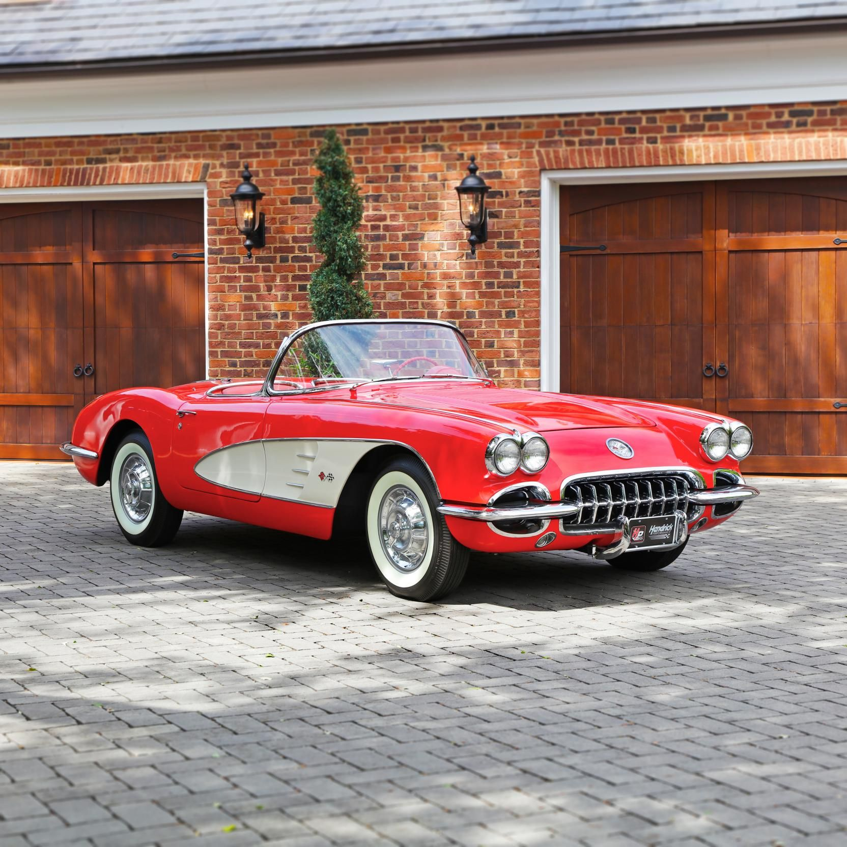 1958 Chevrolet Corvette Convertible Automobiles