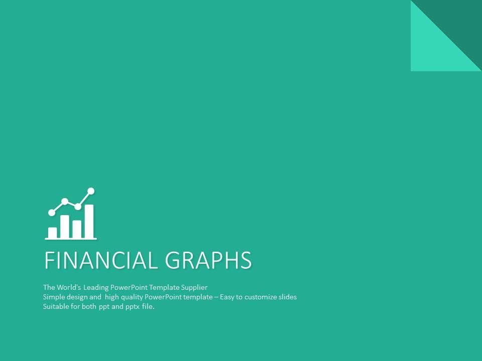 financial graph templates presentation powerpoint