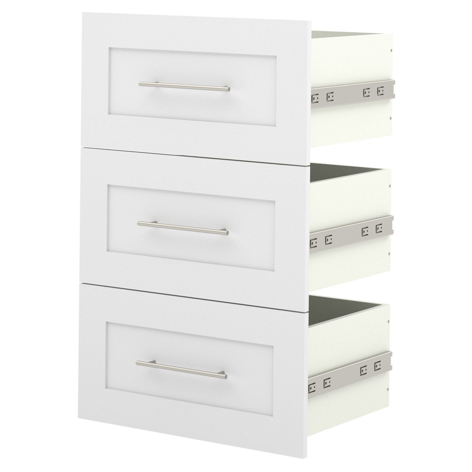 Bestar Pur 3 Drawer Set for 25 in Storage Unit 1117