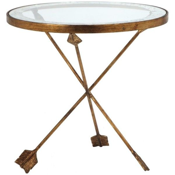 New Metal and Glass Accent Tables