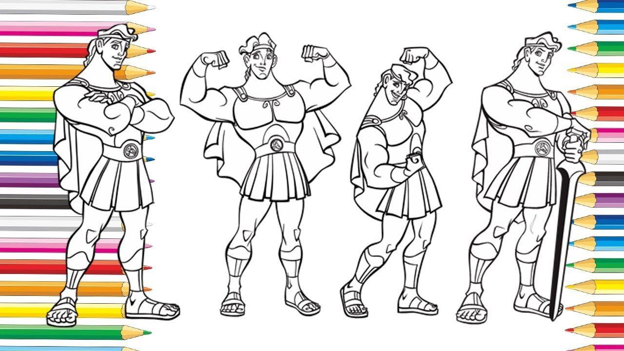 Menggambar Hercules Dengan Gambar Hercules Gambar