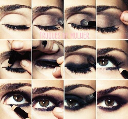 Sexy eye makeup for brown eyes