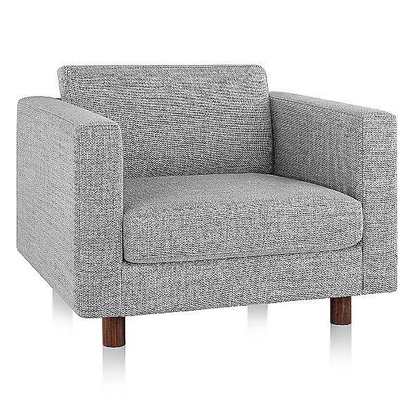 Herman Miller Lispenard Armchair Armchair Blue Chairs