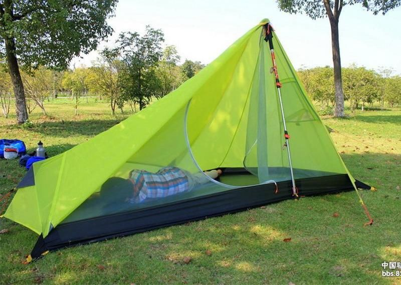 Cheap tent fishing Buy Quality tent game directly from China tent roof Suppliers UL GEAR Oudoor Ultralight C&ing Tent 3 Season 1 Single Person ... & Ultralight Camping Tent #bag #backpack #tents #walking #hiking ...