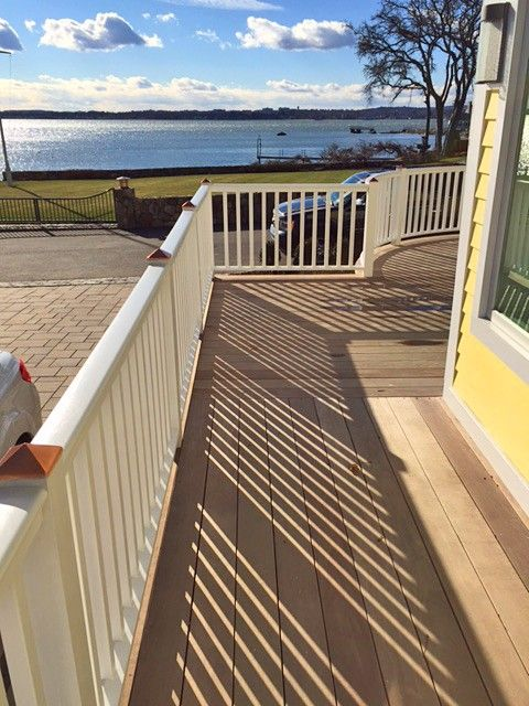 4 3 Pc Porch Rail System Cedar Decks And Porches Traditional Porch Deck Railings
