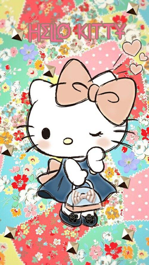 Hello Kitty … Hello kitty imagenes, Hello kitty, Dibujos