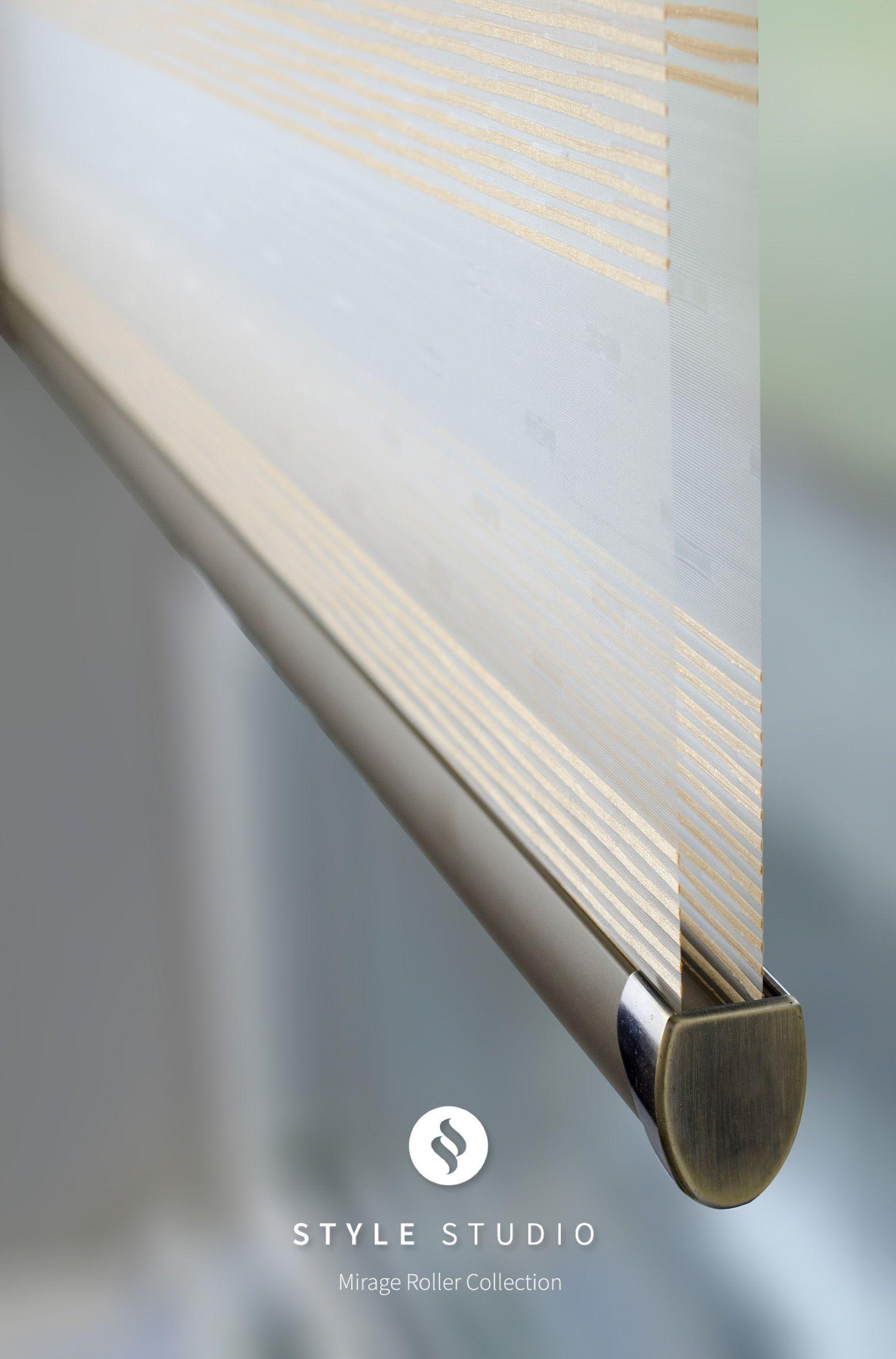 Mirage Lustre Graphite Cameo Roller blinds Pinterest