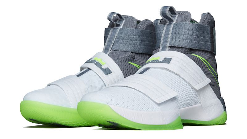 LeBron James' Nike LeBron Soldier 10