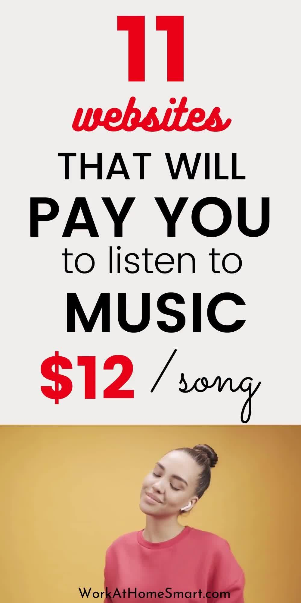 Get Paid To Listen To Music Online (11 Ways)