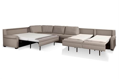 Beautiful No Bar Sleeper sofa