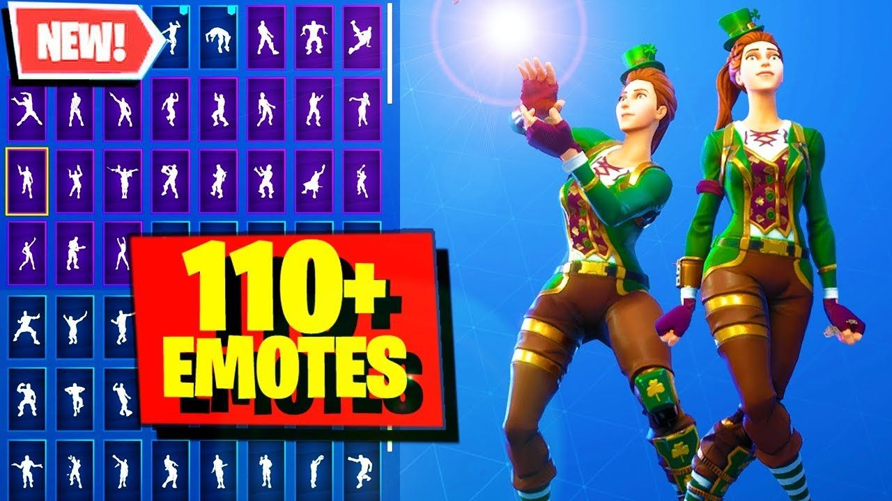 Sgt. Green Clover Skin Fortnite combos with 110+ Emotes