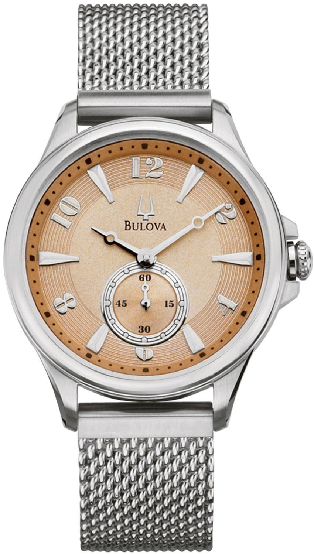 f73c1a05bcc Relógio Bulova Bracelete De Malha