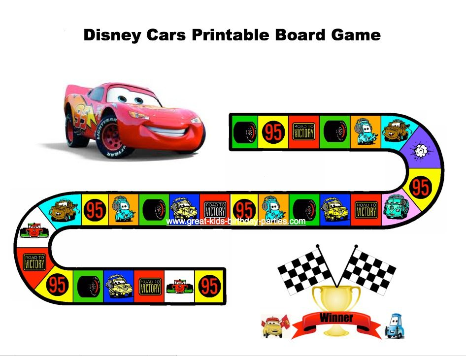 disney cars birthday party - Free Disney Games For 4 Year Olds