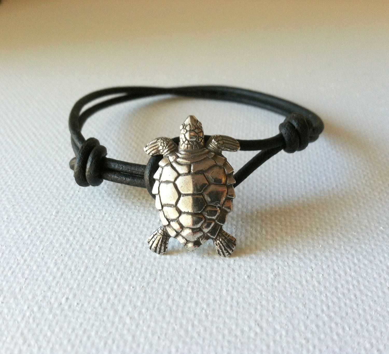 marine inch pleasure boat turtle sterling sea silver bracelet