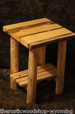 The Rustic Woodshop Every Piece Individually Handcrafted By Keith McNeil PO  Box 214 Mountain View, Wyoming 82939 Heirloom Quality Handcrafted Rustic ...