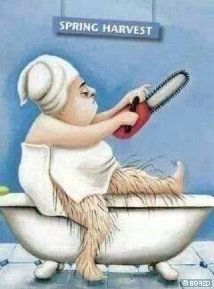 Αποτέλεσμα εικόνας για bored shaving lady