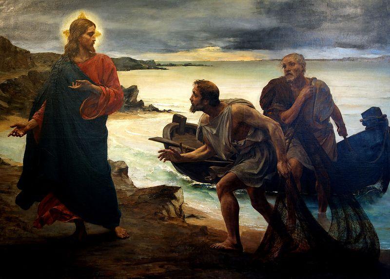 Η κλήση των αποστόλων Πέτρου και Ανδρέα (1877)