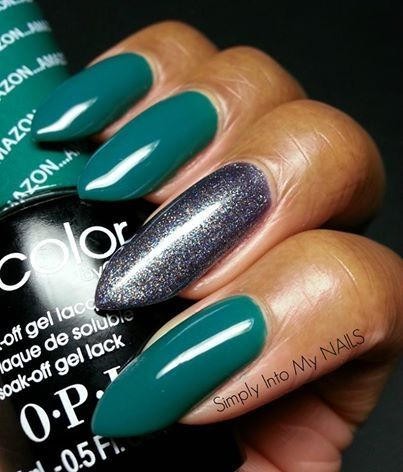 Opi Gelcolor Amazon Amazoff With Opi Gelcolor On Her Majesty S Secret Service Accent Nail Opi