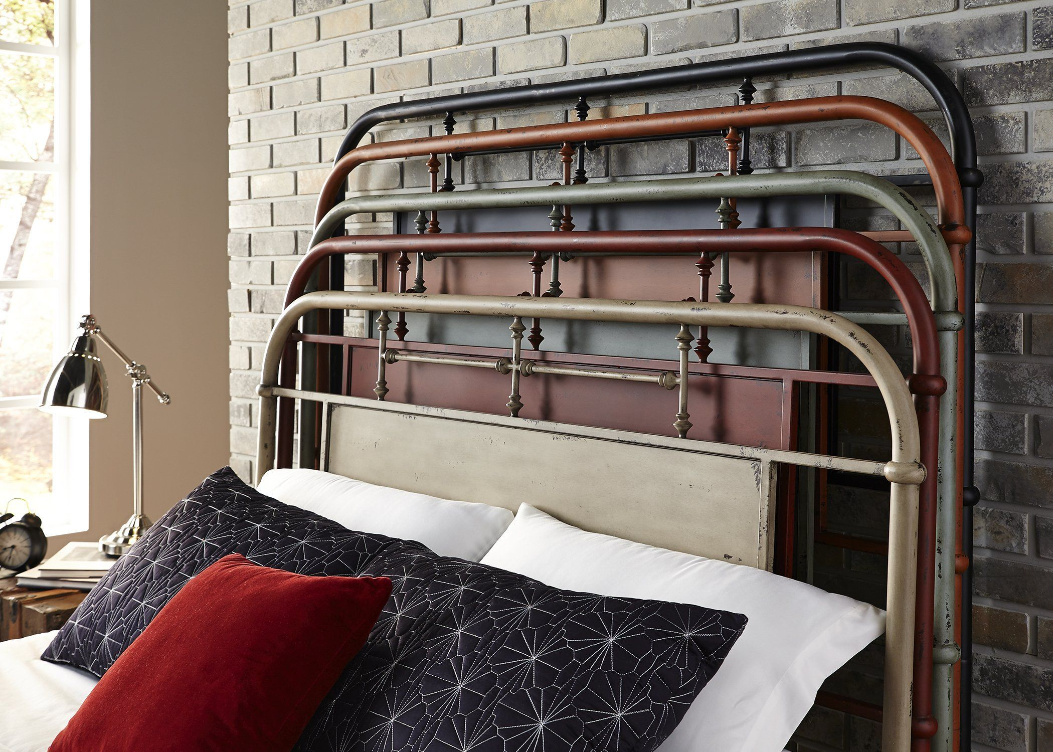 The vintage metal bed collection is the perfect option for any room With options for