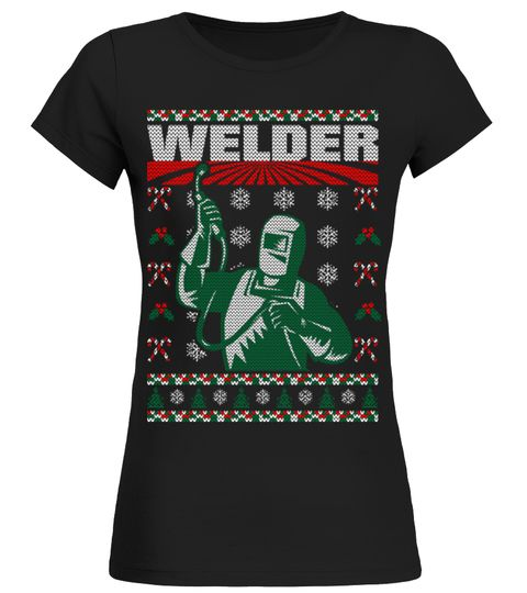 welder welding profession christmas ugly sweater