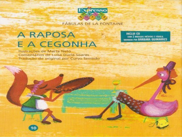 bf46aa96ecdd3 A Raposa e a Cegonha Livros De Histórias, Capas De Livros, Leitura Infantil,