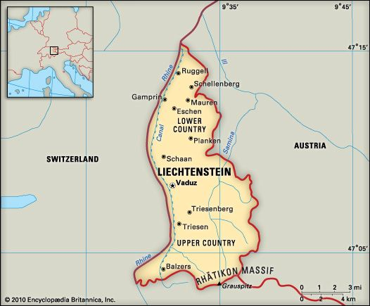 Map of Austria Switzerland and Liechtenstein Google Search