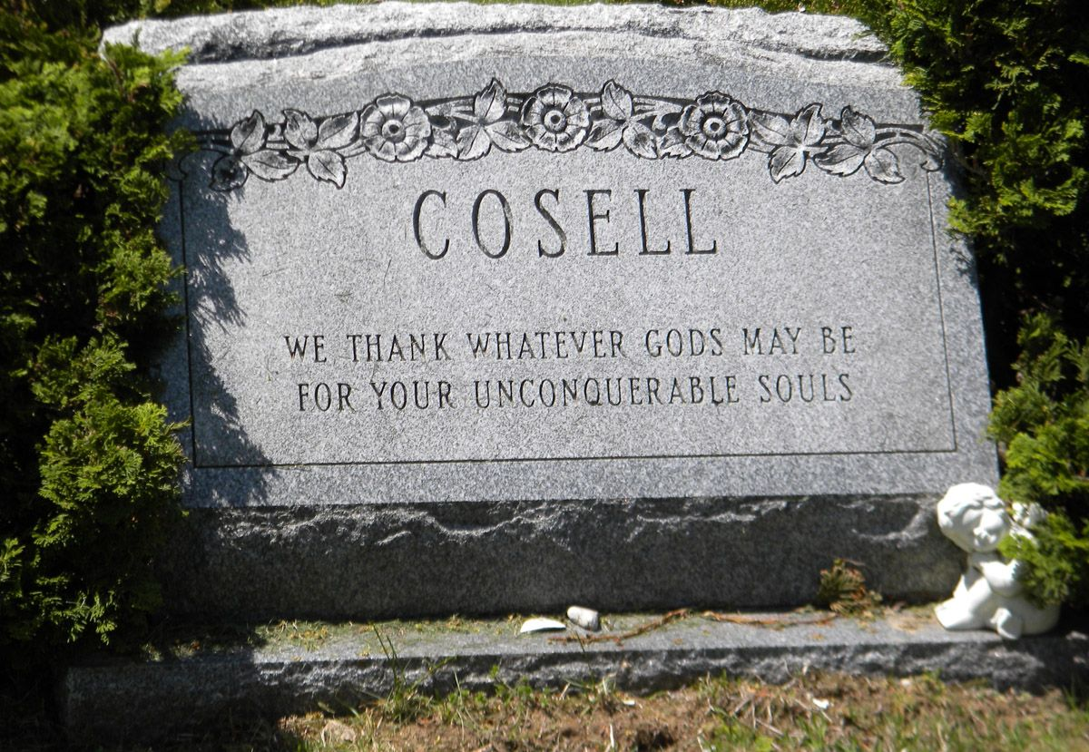 Howard Cosell (1918 - 1995) | Famous graves, Famous tombstones, Grave memorials