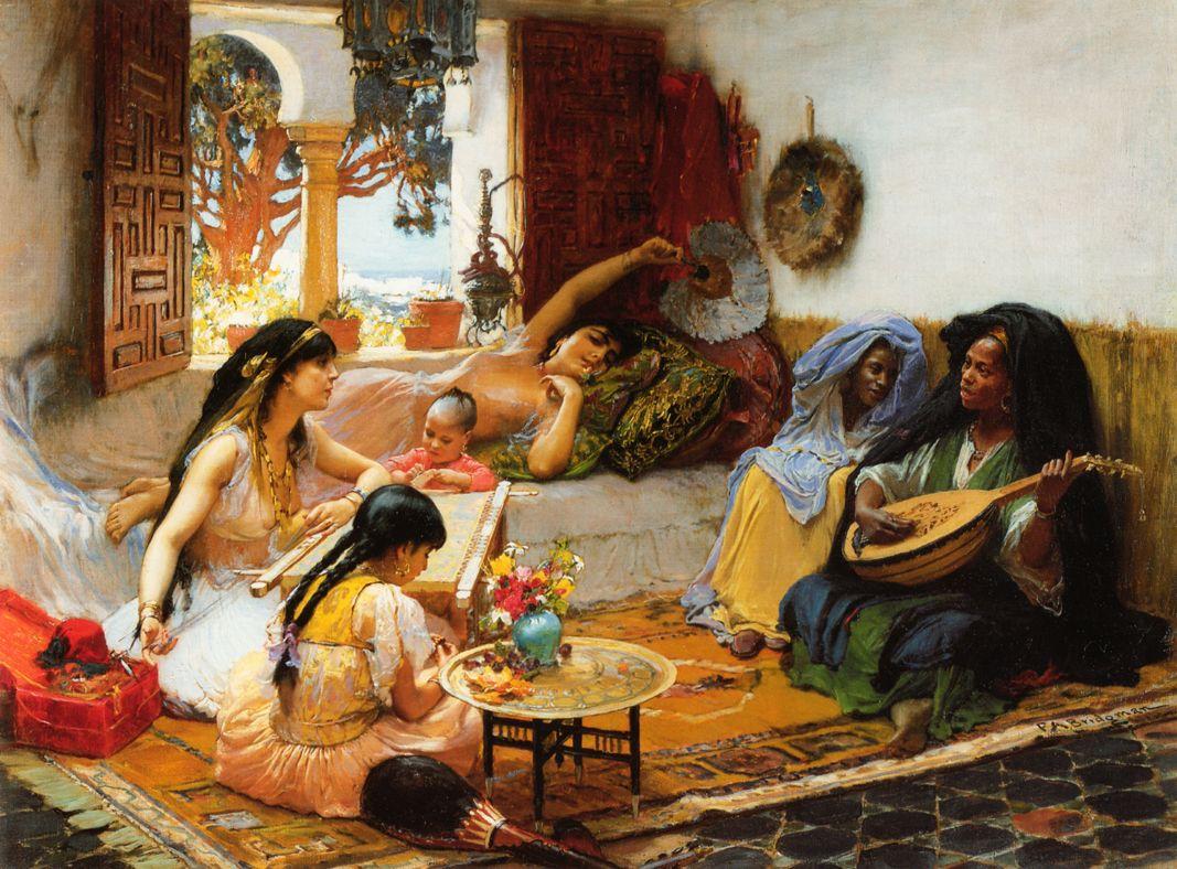Frederick Arthur Bridgman (1847 – 1928) – Pintor Americano_4