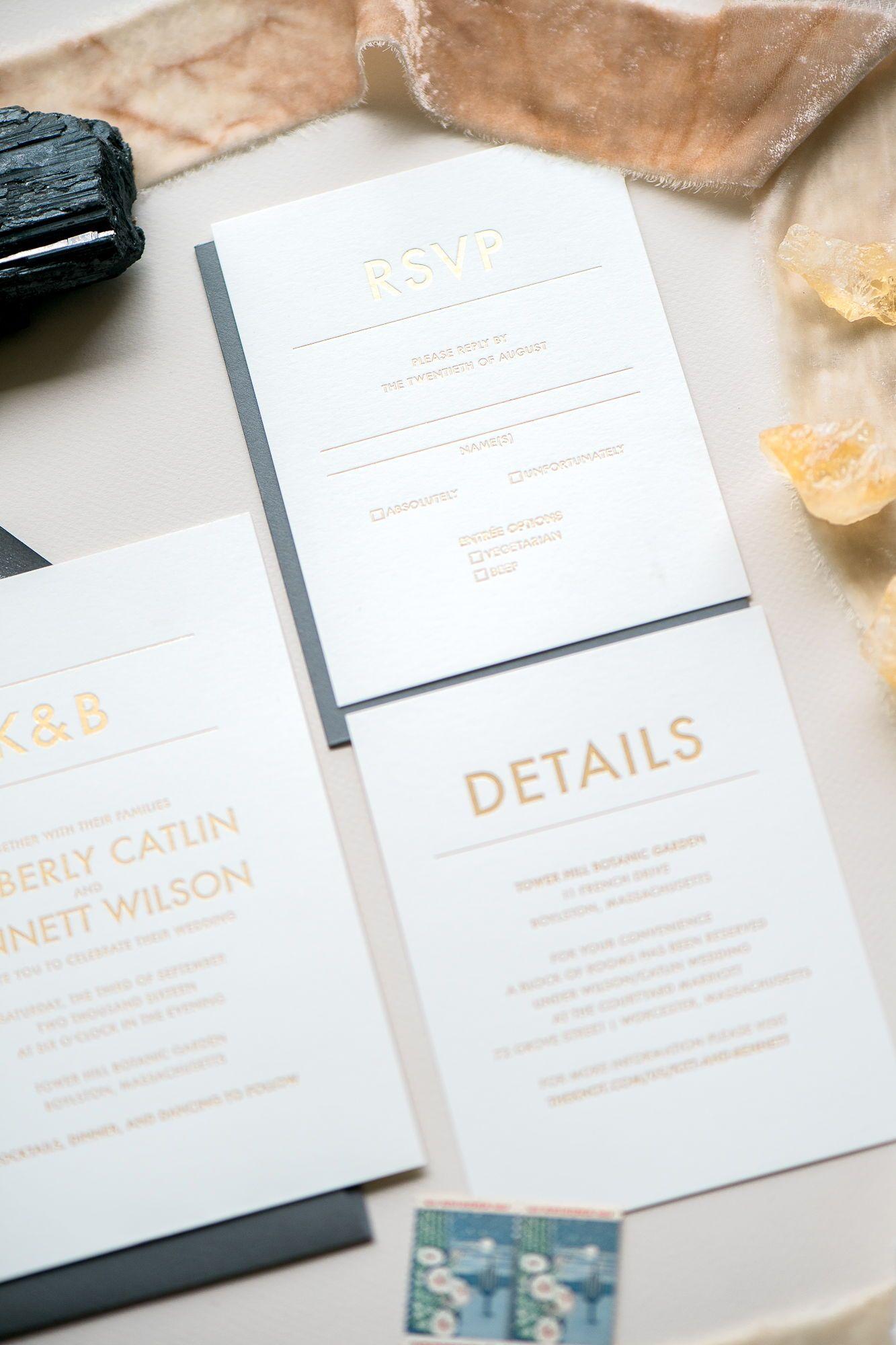 AARON Wedding Invitation Suite Pinterest
