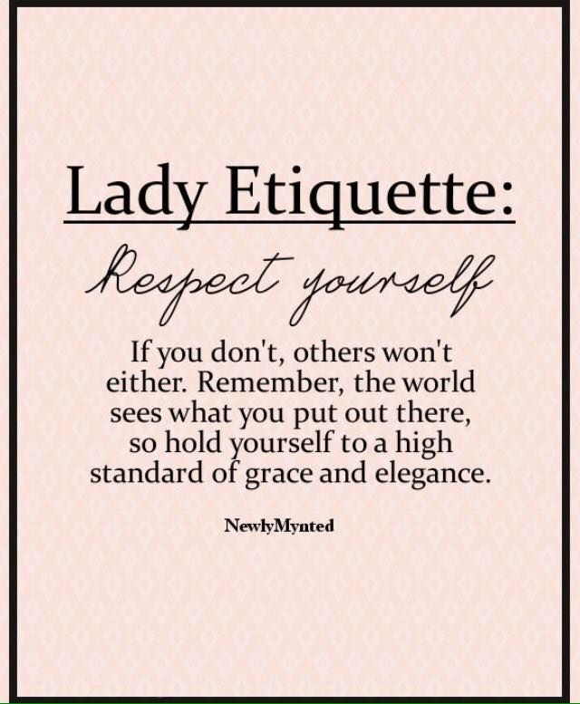 Respecting Yourself Is Not The Same As Demanding Respect From Others