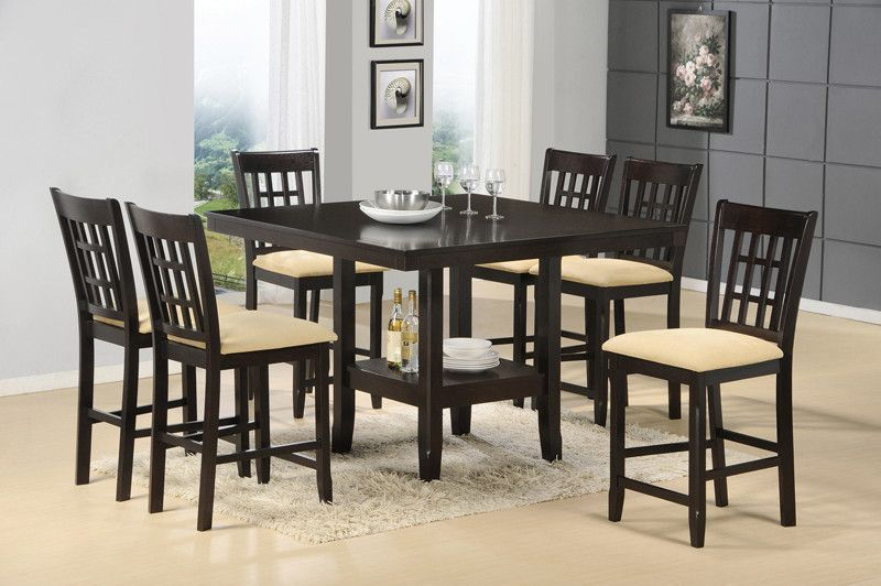 Hillsdale Tabacon 7 Piece Dining Room Set 4155DTBGS7